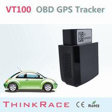 Mini vehicle gps tracker VT100 withBuild-in backup battery OBD/OBD2 of Thinkrace