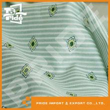 PR-JY327 pretty stripe spandex yarn dyed fabric
