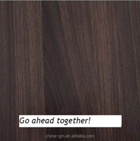 Oak and walnut decorative door paper floor covering paper