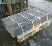 Alta resistencia al desgaste trituradora de martillos trituradora de piezas de repuesto martillo placa