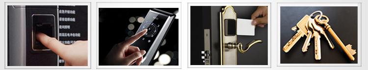 Новый сенсорный экран цинковый сплав цифровой биометрический считыватель отпечатков пальцев замок
