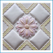 decorative faux leather,resin wall tile,3D background wall
