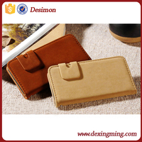 Soft feel classic squirrel grain wallet stand mobile phone case for HTC ,leather flip cover for HTC desire 700