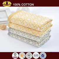 organic cotton yarn dyed children bath towel