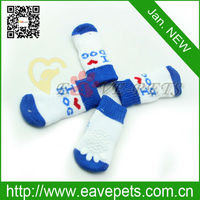 P1007 Pet Cat Socks Dog Grooming Factory(each one piece for each leg) with Many Design Schnauzers Maltese