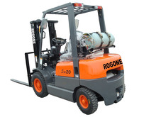 2.5 ton high quality new LPG forklift with Isuzu engine,side shift forklift, easy operation forklift