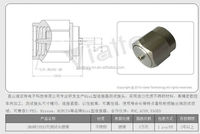 good quality good performance good reliabilility stainless steel SMA adaptor MMCX connector SMA male to MMCX adaptor lab