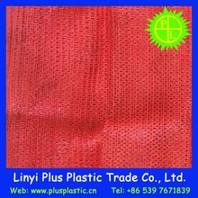 2015 High Strength PE raschel mesh bag for packing potatoes and onions