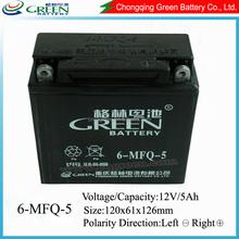 Jis Din Standard Sealed Lead Acid Battery MF 12v