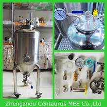 Hot sale brewery jacket conical laboratory fermenter with fast delivery