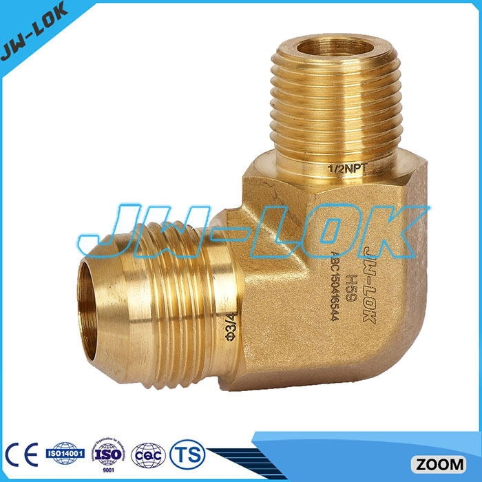 Degree street elbow brass pipe fitting buy