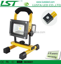 Magnetic Work Light 12V 10W Epistar Battery Power Cordless LED Work Light Rechargeable Outdoors IP65 Flood Lights Portable