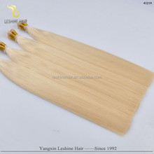 hot selling raw good top quality brazilian vigin wholesale unprocessed stick i tip hair extension