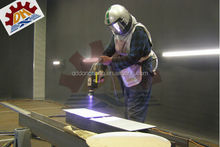 Compressive strength Sand blasting room structure, short manufacturing time (DHH)