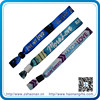 One time use confidence woven fabric philippine wristbands