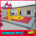 Sp-1428 gigante al aire libre inflables cancha de voleibol