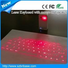 Bribase New Promotion Third Generation Virtual laser QWERTY keyboards
