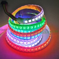 AP102 magic digital dream color rgb led strip, wariable color led strips, programmable rgb led strip