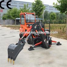 máquina multifunción dy840 mini tractor tractor de granja cargador para la venta