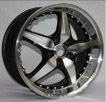 BLACK / WHITE / SILVER / BRONZE WHEELS CAR ALLOY WHEEL RIMS LOW PRESURE CASTING WHEEL