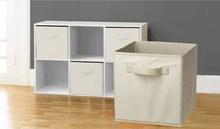 Foldable Storage Cube Basket Bin- RBHO1017
