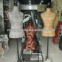 Female Bust Mannequins Window Display Racks Tripod Models