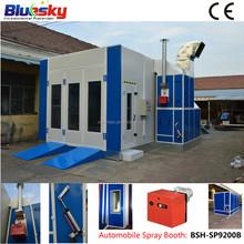BSH-SP9200B automotive spray booth/ car body spray paint/ car spray booth paint booth baking booth