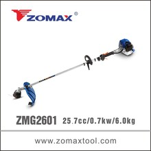 CE 2 stroke 25.7cc petrol wholesale zero turn lawn mower from manufacturer