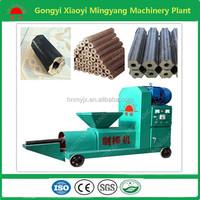 No binder No pollution sawdust charcoal briquette press machine008613838391770