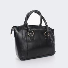 2015 Hot sale black pu leather bags women
