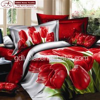 Design your own brand bedsheets pillow case quilt cover home decor 50% polyester cotton bed sheet factory