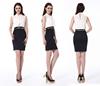 2015 Slim Fit Western Dress Wholesale Price Black Clothing