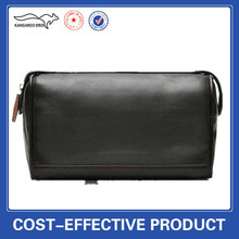 Men's Leather Cosmetic Toiletry Bag