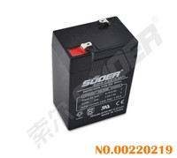 Suoer 2015 New Storage Battery 4.5Ah Solar Energy Storage Battery 6V Solar Power Accumulator