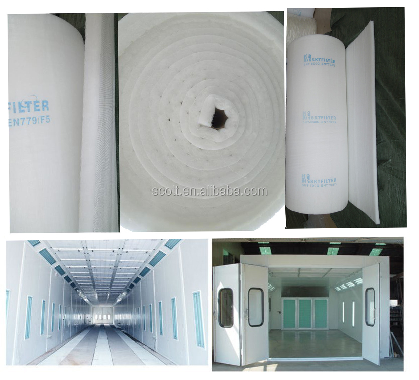 600G SOILD sticky paint booth filters