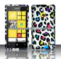 Custom rubber snap on cell phone case for nokia lumia 520