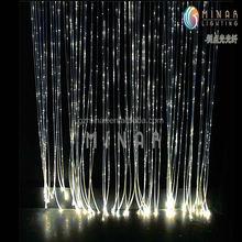 2015 High Brightness single fiber optic waterfall light curtain