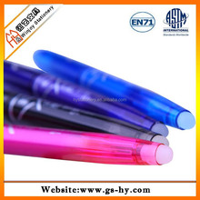 2015 hot selling stick style empty pen erasable