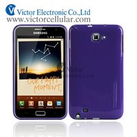 Shiny TPU case for Samsung Galaxy Note I9220, Mobile phone accessories for Samsung