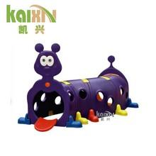 Juegos infantiles de plástico túnel del juego jardín jugar a las casitas de juguete