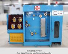 Multi wire drawing machine (2Wires) electrical cable manufacturing machine