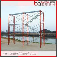 Galvanized Ring Lock Steel Framework For Scaffolding System