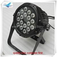Free shipping waterproof rgbw 4 in 1 18x10w led par light