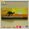 fashion kangaroo leather wallet anti-lost alarm