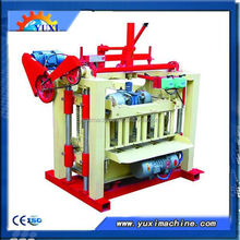 high demand products in India manul hollow cement brick manufacturer /easy structure brick manufacturing machine