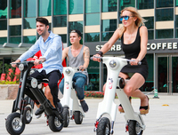 New Design 350W two wheel electric dirt bike with Li-po samsung battery patented products