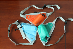 Colored Mobile phone Outdoor running Waist Pouch Bags