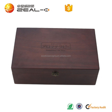 food grade high grade custom wooden box essential oil with divider