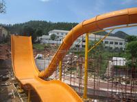 2015 Boowerango big water slide ride amusement equipment