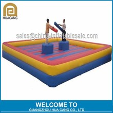 Guangzhou Factory Price inflatable fighting arena, fighting joust game,inflatable fighting court